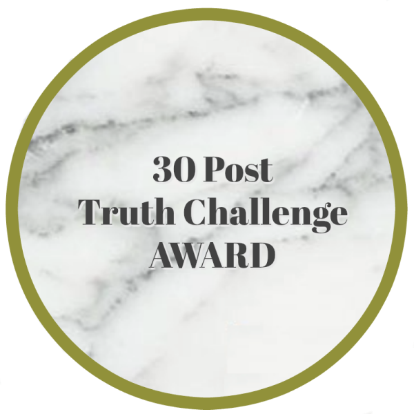 30 Posts Truth Challenge Badge