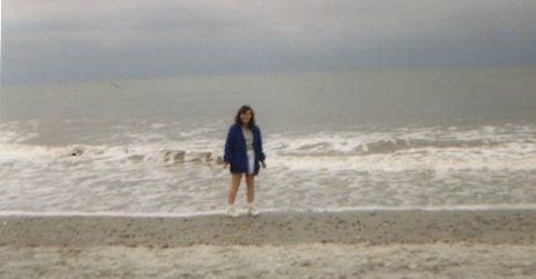Gail at beach