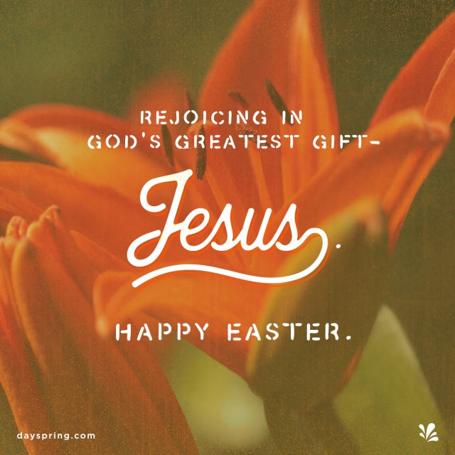 God's Greatest Gift - Jesus. Easter