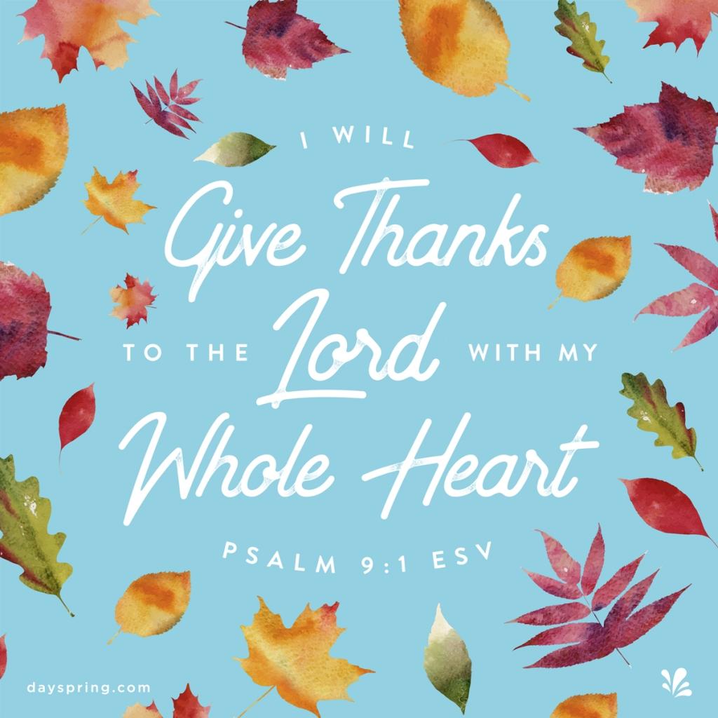 Psalm 9.1