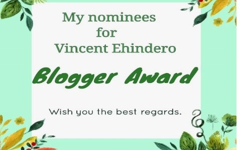 Vincent Ehindero Award